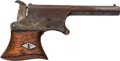 "Handguns:Derringer, Palm, Remington Serial Number 4 Vest Pocket Pistol ""Saw Handle Derringer""...."