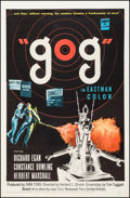 """Movie Posters:Science Fiction, Gog (United Artists, 1954). One Sheet (27"""" X 41""""). ScienceFiction.. ..."""