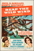 "Movie Posters:Adventure, Reap the Wild Wind (Paramount, R-1954). One Sheet (27"" X 41"").Adventure.. ..."