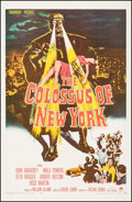 "Movie Posters:Science Fiction, The Colossus of New York (Paramount, 1958). One Sheet (27"" X41.5""). Science Fiction.. ..."