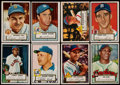 Baseball Cards:Lots, 1952 Topps Baseball Collection (144)....