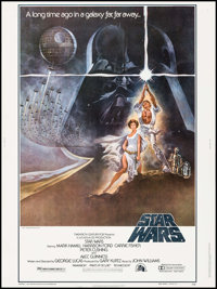 "Star Wars (20th Century Fox, 1977). Poster (30"" X 40"") Style A. Science Fiction"