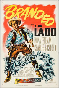 "Branded (Paramount, 1951). One Sheet (27"" X 41""). Western"