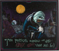 Animation Art:Concept Art, Tim Burton's Nightmare Before Christmas Dr. Finklestein and Sally Concept Art (Touchstone/Walt Disney, 1993)....