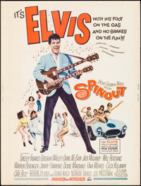 "Spinout (MGM, 1966). Poster (30"" X 40""). Elvis Presley"