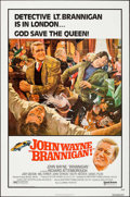 """Movie Posters:Crime, Brannigan (United Artists, 1975). One Sheet (27"""" X 41""""). FlatFolded. Crime.. ..."""