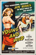 "Movie Posters:Bad Girl, Young and Wild (Republic, 1958). One Sheet (27"" X 41""). Bad Girl....."