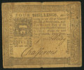 Colonial Notes:Pennsylvania, Pennsylvania March 20, 1773 4s Fine-Very Fine.. ...