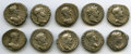 Ancients:Roman Imperial, Ancients: Lot of ten AR denarii of Hadrian (AD 117-138). F toVF.... (Total: 10 coins)