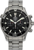 Timepieces:Wristwatch, Omega Seamaster America's Cup Edition Professional Chronometer Chronograph. ...