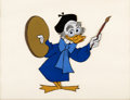 "Animation Art:Production Cel, ""Von Drake in Spain"" Ludwig Von Drake Production Cel (Walt Disney,1962). ..."