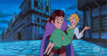 Animation Art:Color Model, Hunchback of Notre Dame II Quasimodo Production/Color ModelCel and Painted Background (Walt Disney, 2002). ... (Total: 2Items)