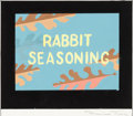 Animation Art:Concept Art, Rabbit Seasoning Title Layout/Concept Painting (WarnerBrothers, 1952)....