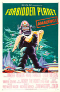 "Movie Posters:Science Fiction, Forbidden Planet (MGM, 1956). One Sheet (26.75"" X 41"").. ..."