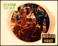 "The Petrified Forest (Warner Brothers, 1936). Lobby Card (11"" X 14"")"