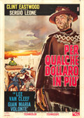"Movie Posters:Western, For a Few Dollars More (PEA, 1965). Italian 2 - Fogli (39"" X 55"")....."
