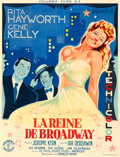 "Movie Posters:Musical, Cover Girl (Columbia, 1947). First Post-War Release French Grande(47.75"" X 62.5"") Guy Gerard Noel Artwork.. ..."