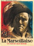 "Movie Posters:Foreign, La Marseillaise (R.A.C., 1937). French Grande (47"" X 62.75"") R.Marcos Artwork.. ..."