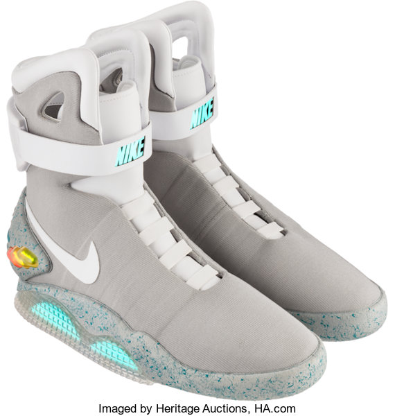 0568aed1db5aab Nike. Air Mag (Back to the Future)