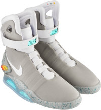 Nike Air Mag (Back to the Future), Multi-Color/Multi-Color, 2016 Size 11, Original Box with Signed N