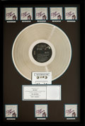 "Movie/TV Memorabilia:Awards, ""Dirty Dancing"" RIAA Hologram (8x) Platinum Album Sales Award,1987...."