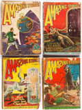 Pulps:Science Fiction, Amazing Stories Group of 19 (Ziff-Davis, 1927-31) Condition:Average PR.... (Total: 19 Comic Books)