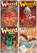 Pulps:Horror, Weird Tales Group of 30 (Popular Fiction, 1950-54) Condition:Average GD.... (Total: 30 Comic Books)