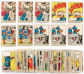 Memorabilia:Trading Cards, Marvel Trading Cards Group (Donruss, 1966) Condition: AverageGD/VG....