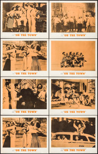 "On the Town (MGM, R-1962). Lobby Card Set of 8 (11"" X 14""). Musical. ... (Total: 8 Items)"