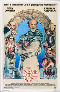 """The Name of the Rose & Others Lot (20th Century Fox, 1986). One Sheets (3) (27"""" X 41""""). Mystery. ... (..."""
