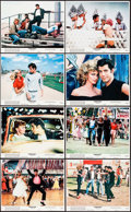 """Movie Posters:Musical, Grease (Paramount, 1978). Mini Lobby Card Set of 8 (8"""" X 10""""). Musical.. ... (Total: 8 Items)"""