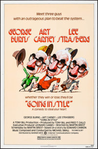 """Going in Style & Other Lot (Warner Brothers, 1979). One Sheets (2) (27"""" X 41""""), Mini Lobby Card Sets o..."""