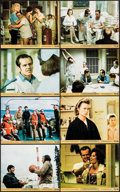"Movie Posters:Academy Award Winners, One Flew Over the Cuckoo's Nest (United Artists, 1975). Mini LobbyCard Set of 8 (8"" X 10""). Academy Award Winners.. ... (Total: 8Items)"