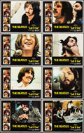 """Movie Posters:Rock and Roll, Let It Be (United Artists, 1970). Lobby Card Set of 8 (11"""" X 14"""").Rock and Roll.. ... (Total: 8 Items)"""