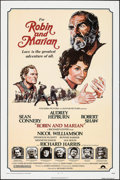 """Movie Posters:Adventure, Robin and Marian (Columbia, 1976). One Sheet (27"""" X 41""""), Mini Lobby Card Set of 9, & Photos (8) (8"""" X 10""""). Adventure.. ... (Total: 18 Items)"""
