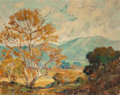 Paintings, George Demont Otis (American, 1879-1962). Golden Trees and Green Mountains. Oil on canvas. 24-1/4 x 30 inches (61.6 x 76...