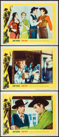 """Movie Posters:Western, High Noon (United Artists, 1952). Lobby Cards (3) (11"""" X 14""""). Western.. ... (Total: 3 Items)"""