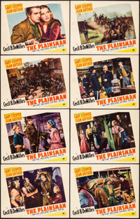 "The Plainsman (Paramount, 1936). Lobby Card Set of 8 (11"" X 14""). Western. ... (Total: 8 Items)"