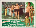 "Movie Posters:Adventure, Tarzan and the Leopard Woman (RKO, 1946). Lobby Card (11"" X 14""). Adventure.. ..."