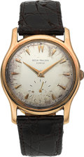 Timepieces:Wristwatch, Patek Philippe Ref. 2450 18K Gold Wristwatch Owned by BaseballLegend Minnie Minoso. ...