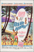 "Movie Posters:Elvis Presley, Blue Hawaii (Paramount, 1961). One Sheet (27"" X 41""). ElvisPresley.. ..."