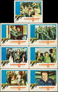 """Movie Posters:War, The Longest Day (20th Century Fox, 1962). Lobby Cards (7) (11"""" X14""""). War.. ... (Total: 8 Item)"""