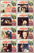 "Movie Posters:Horror, The Skull (Paramount, 1965). Lobby Card Set of 8 (11"" X 14""). Horror.. ... (Total: 8 Items)"