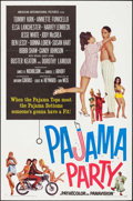 """Movie Posters:Comedy, Pajama Party & Other Lot (American International, 1964). One Sheet (27"""" X 41"""") & British One Sheet (27"""" X 40""""). Comedy.. ... (Total: 2 Items)"""