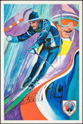 """Movie Posters:Sports, Jean Claude Killy (Chevrolet, Early 1970). Personality Poster (25"""" X 37""""). Sports.. ..."""