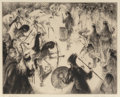 Prints & Multiples, Gene Kloss (American, 1903-1996). Age-Old Rhythm, 1973. Etching. 11-3/4 x 14-3/4 inches (29.8 x 37.5 cm) (image). Ed. 27...