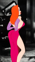 Animation Art:Production Cel, Who Framed Roger Rabbit Jessica Rabbit Production Cel(Disney/Touchstone, 1988). ...