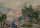 Thomas Moran (American, 1837-1926) Grand Canyon, Hermit Rim, 1912 Chromolithograph 26 x 36 inches (66.0 x 91.4 cm) (s