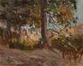 Fine Art - Painting, American:Modern  (1900 1949)  , Thomas Lorraine Hunt (American, 1882-1938). Mid-day Light,1911. Oil on board. 10 x 12 inches (25.4 x 30.5 cm). Signed a...