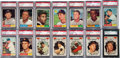Baseball Cards:Sets, 1961 Topps Baseball High Grade Complete Set (587). ...